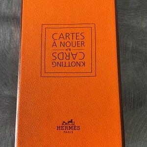 Hermès Scarf Cards